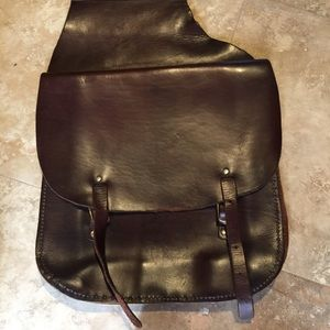 "Leather ""Horse-purse"""